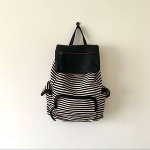 Madden Girl Stripped Backpack
